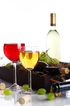 Piękna kompozycja wina