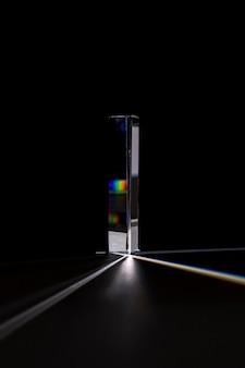 Piękna koncepcja światła pryzmatu