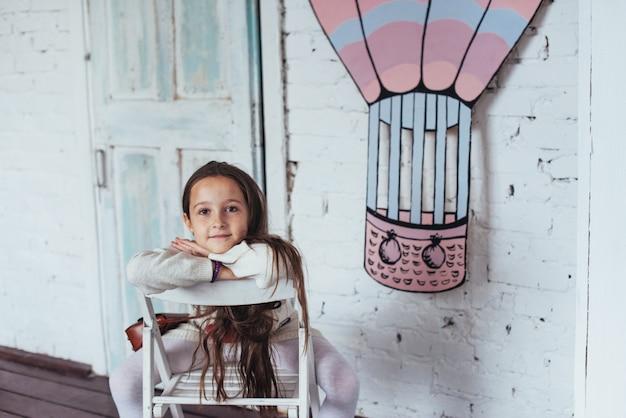 Piękna mała dziewczynka