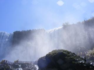 Piękna niagara falls