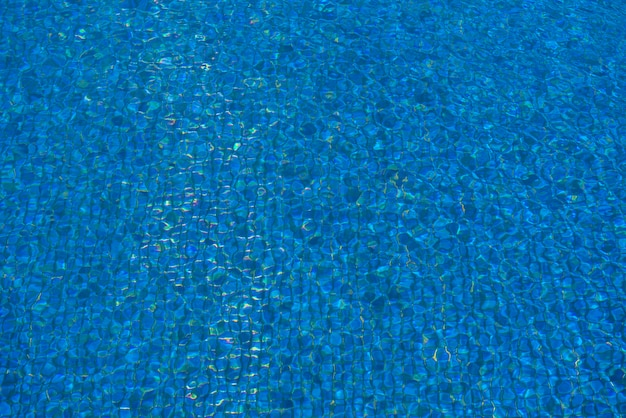 Piękna niebieska pula kolorów