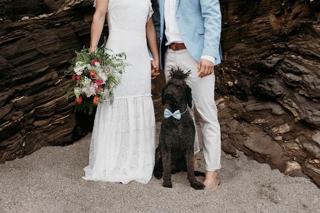 Piękna para wesele na plaży?