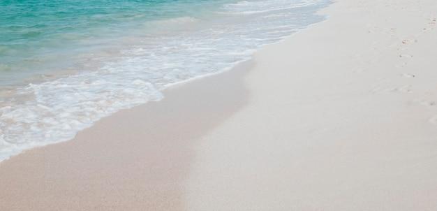 Piękna plaża na wyspach galapagos, ekwador