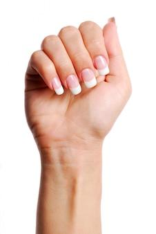 Piękna ręka kobiety.