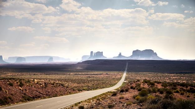 Piękna sceneria płaskowyżów w parku narodowym bryce canyon, utah, usa