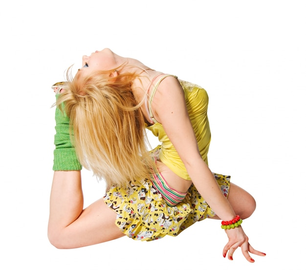 Piękna tancerka