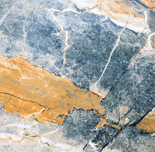 Piękna wielokolorowa wewnętrzna dekoracyjna kamienna ściana