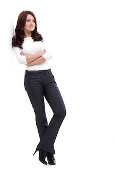 Piękna wysoka kobieta