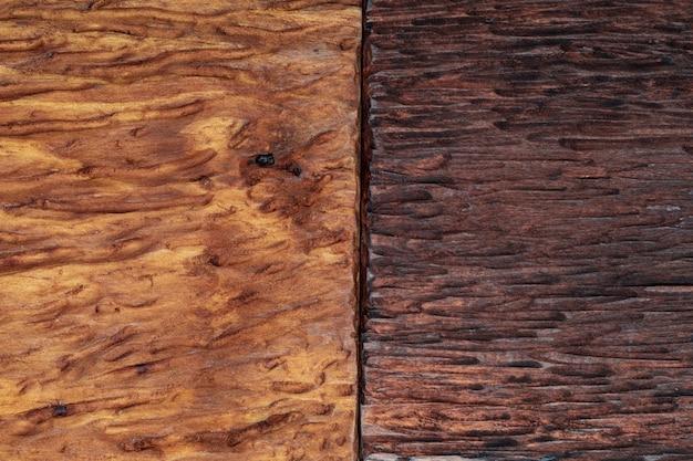 Piękne drewno połączone w jasnych i ciemnych odcieniach