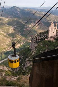 Piękne góry lokalizacji montserrat
