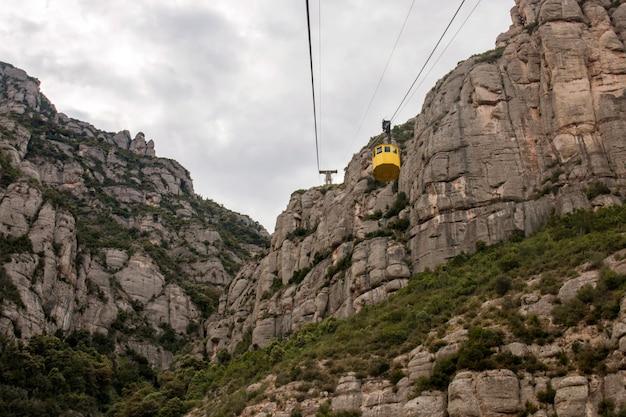Piękne góry montserrat
