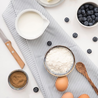 Piękne i pyszne składniki na deser