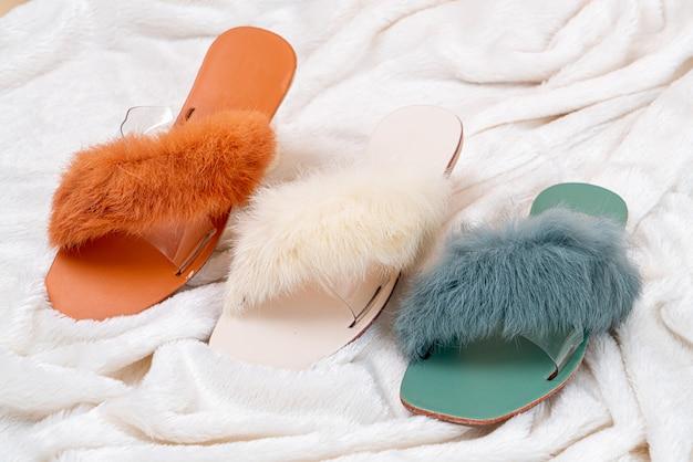 Piękne kobiety moda buty