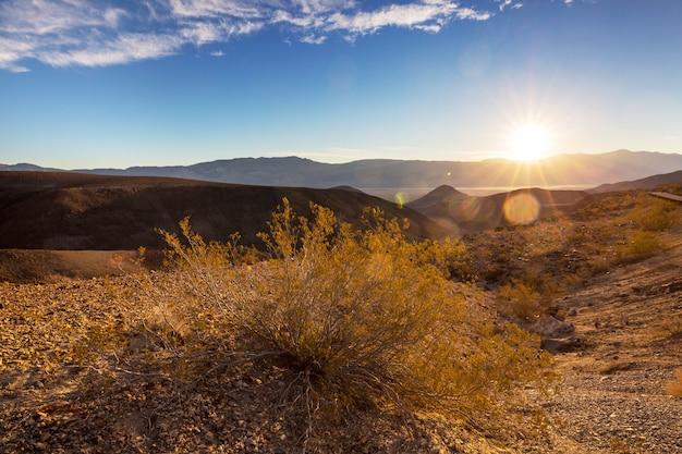 Piękne krajobrazy amerykańskiej pustyni
