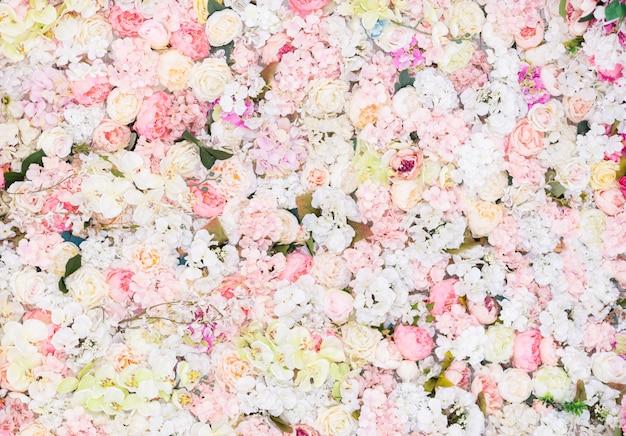 Piękne kwiaty w tle ¡