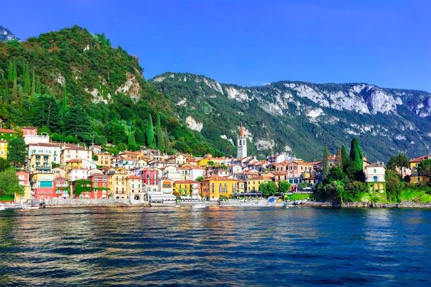 Piękne lago di como - malownicza wioska varenna
