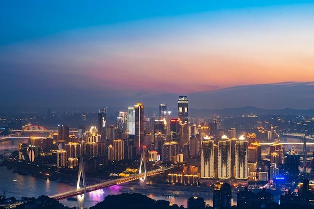 Piękne miasto chongqing