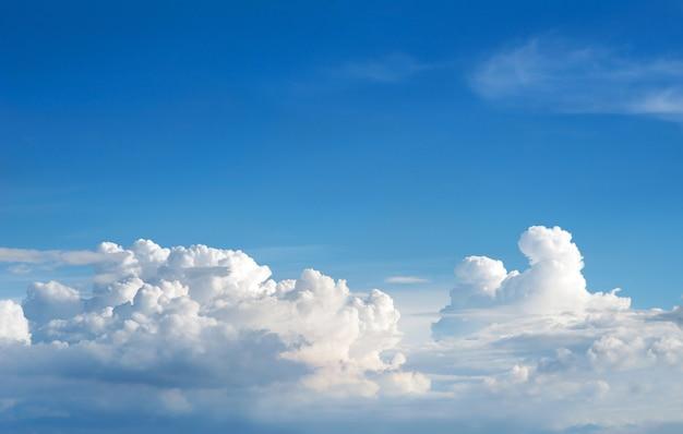 Piękne niebo chmury