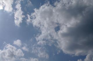 Piękne niebo, niebieski
