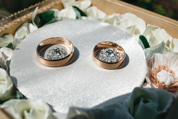 Piękne obrączki dla nowożeńców