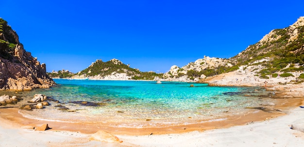Piękne plaże sardynii