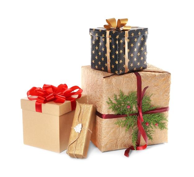 Piękne pudełka na prezenty świąteczne