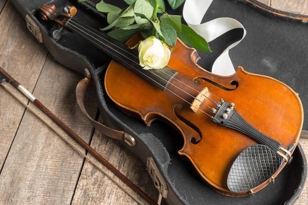 Piękne skrzypce