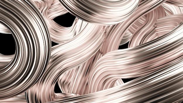 Piękne srebrne tło. renderowania 3d.