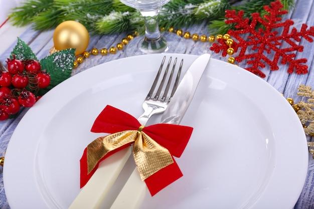 Piękne świąteczne otoczenie, z bliska,