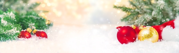 Piękne świąteczne tło. selektywna fokus uroczystość