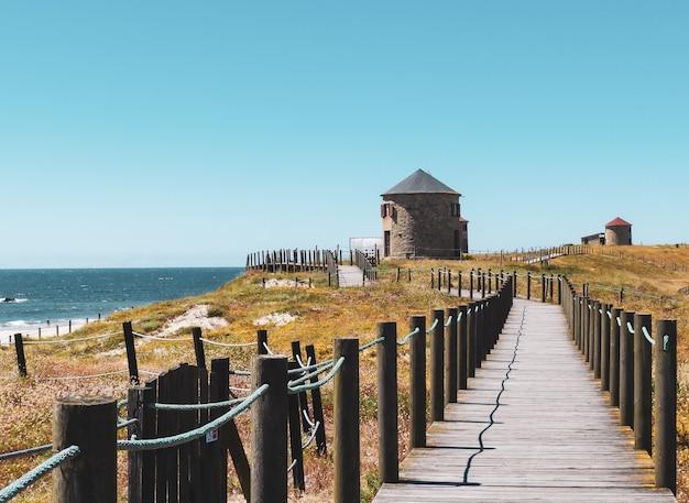 Piękne ujęcie parku narodowego północnego wybrzeża