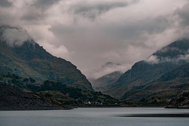 Piękne ujęcie z parku narodowego snowdonia