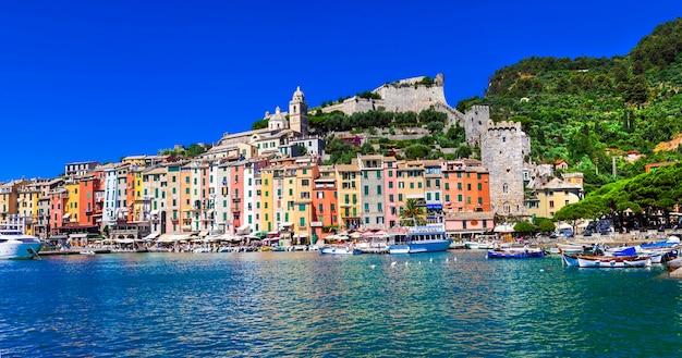 Piękne wybrzeże ligurii we włoszech