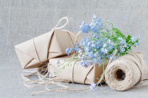 Piękne zapomnij o mnie nie kompozycje kwiatowe