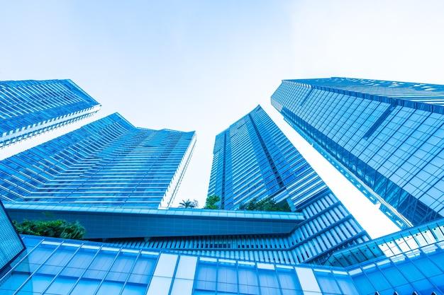 Pięknej architektury biznesowego budynku biurowa powierzchowność