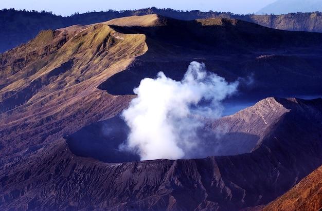 Piękno krateru bromo