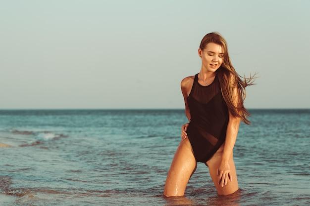 Piękno na plaży