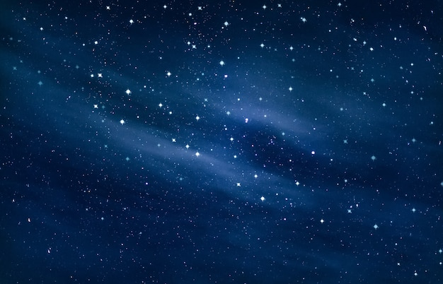 Piękno nocnego nieba