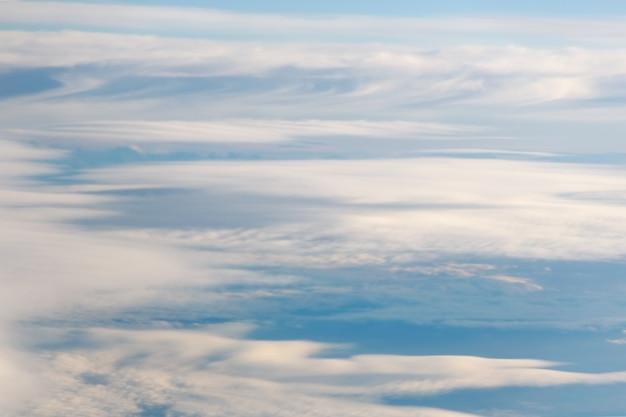 Piękny abstrakcjonistyczny niebo ton zamazywał tło, błękitny biel menchii wzór