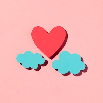 Piękny asortyment love na różowo