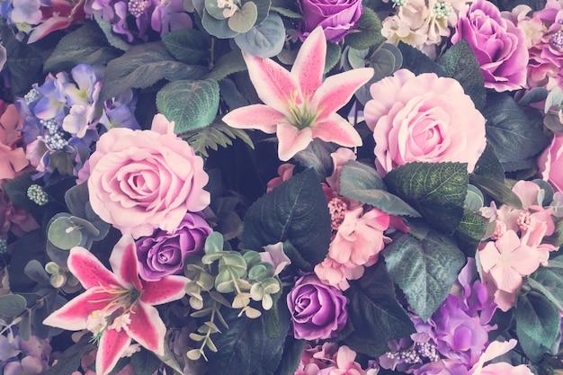 Piękny bukiet kwiatów
