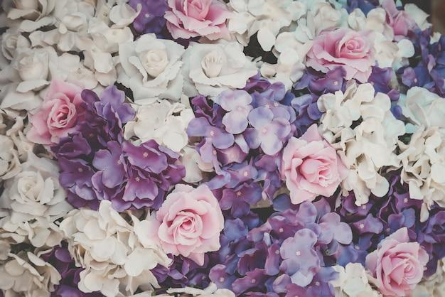 Piękny bukieta kwiat dla tła