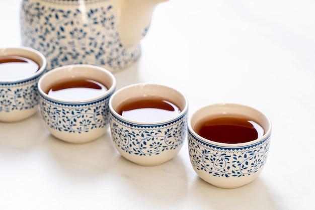 Piękny chiński zestaw do herbaty