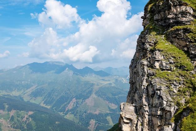 Piękny krajobraz austriackich alp, europa.