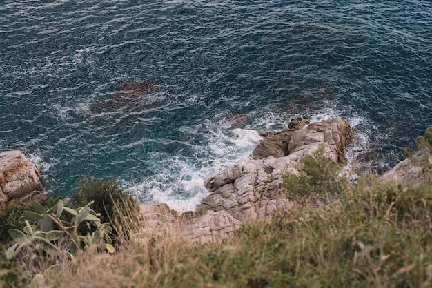 Piękny krajobraz na hiszpańskim wybrzeżu costa brava