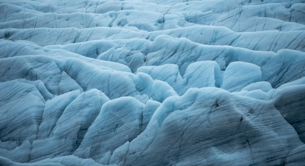 Piękny krajobraz na lodowcu