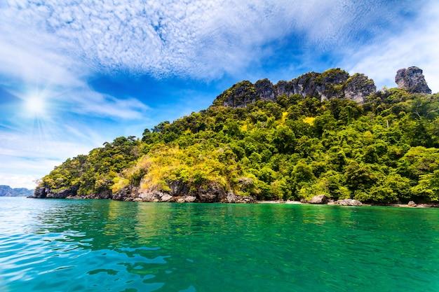 Piękny krajobraz oceanu