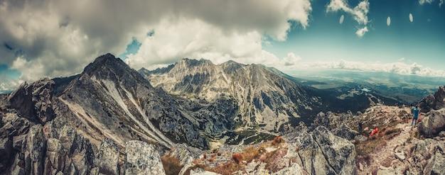 Piękny krajobraz tatr