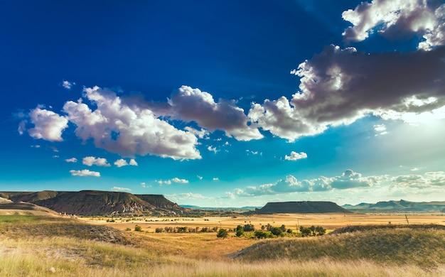 Piękny krajobraz w kapadocji