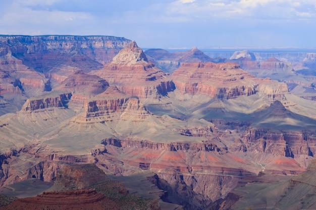 Piękny krajobraz z parku narodowego wielkiego kanionu